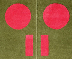 Gary Hume Rug Door 2, Royal Academy of Arts Alternate View