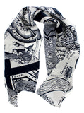 A Map of Days Scarf, Grayson Perry - CultureLabel - 1