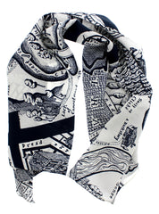A Map of Days Scarf, Grayson Perry