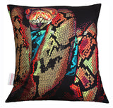 Snake Portrait Cushion, Chloe Croft - CultureLabel - 1 (full cushion)