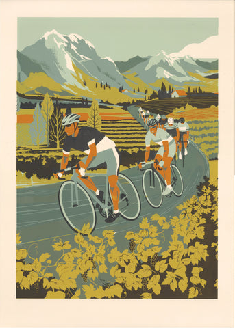 Vineyard Cyclists, Eliza Southwood - CultureLabel