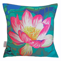 Water Lily Cushion, Chloe Croft