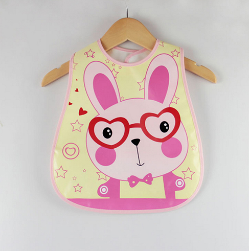 Waterproof Cartoon Baby Bib Rabbit