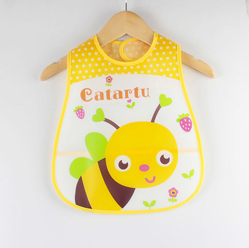 Cartoon Design Waterproof Baby Bibs