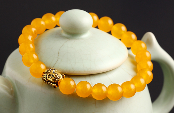 Buddha Bead Stone Bracelet OFFER