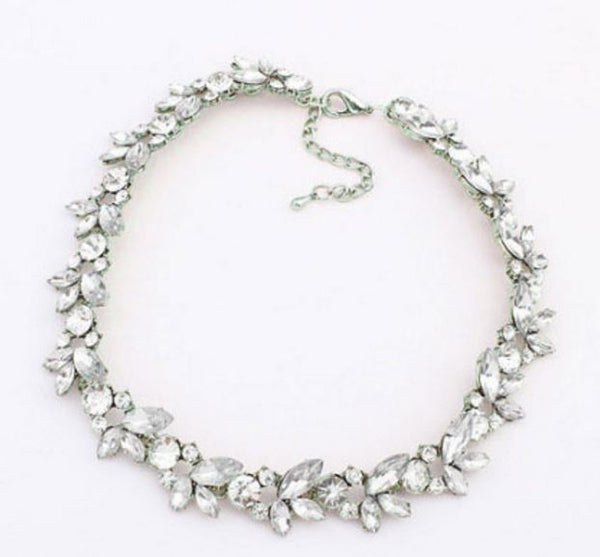 Trendy Rhinestone Choker Necklace