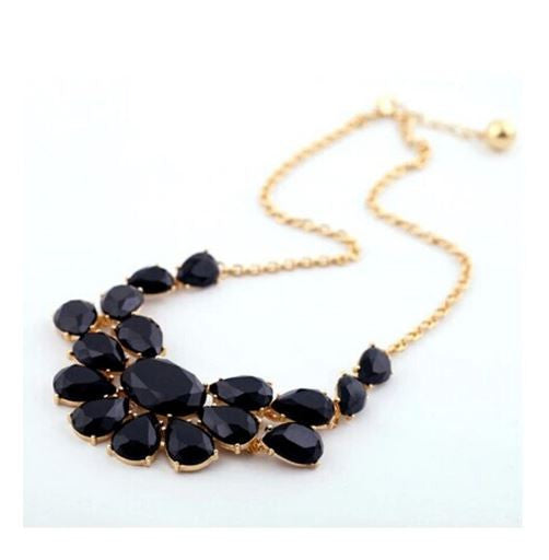 Free Black Fashion Statement Necklace