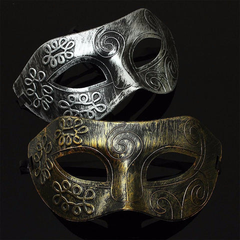 Halloween 1 Piece Retro Venetian Mardi Gras Masquerade Party Ball Mask