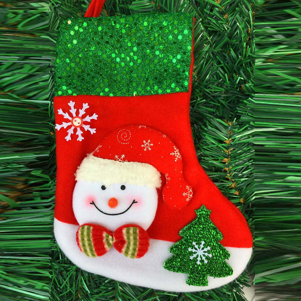 Christmas Sock Stocking Wall Hanging Decoration OFFER