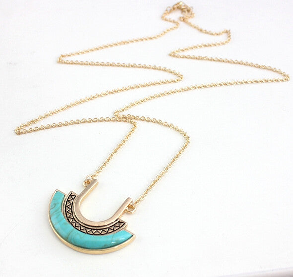 New Turquoise Fashion Jewelry Necklace