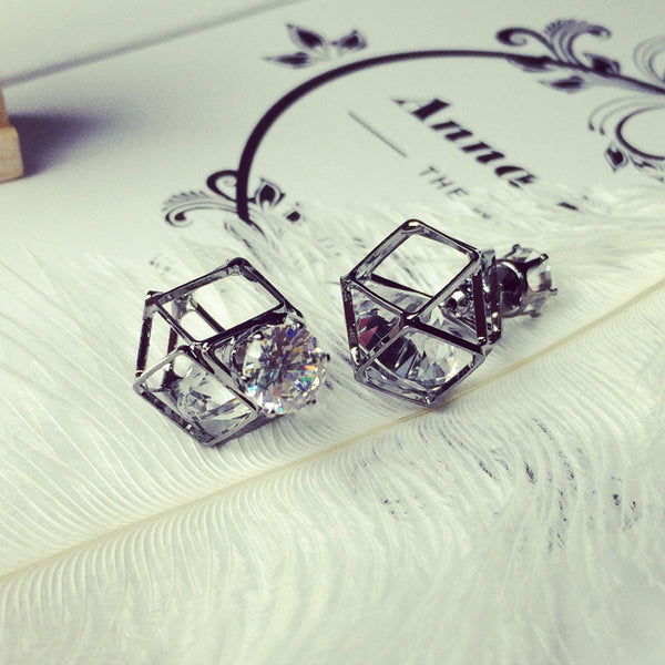 Latest Fashion Geometric Stud Earrings OFFER