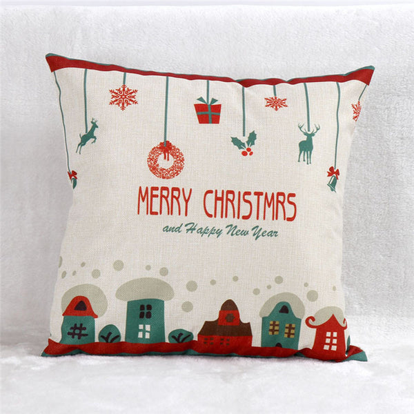Christmas Cute Pillow Cover Cases OFFER