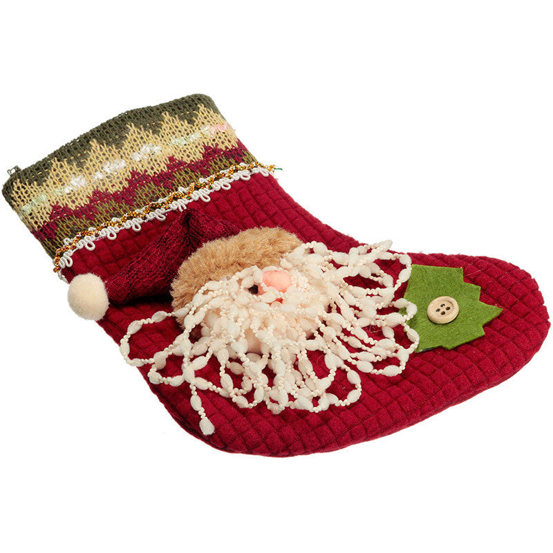 Christmas Sock Festival Wall Hanging Decoration OFFER