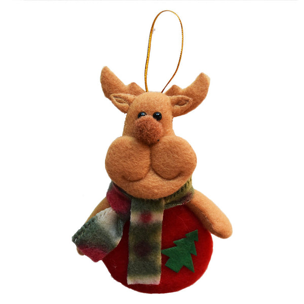 Free Reindeer Christmas Tree Hanging Drop Decorative Ornaments