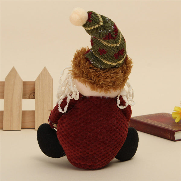Christmas Table and Shelf Standing Doll Decorations OFFER