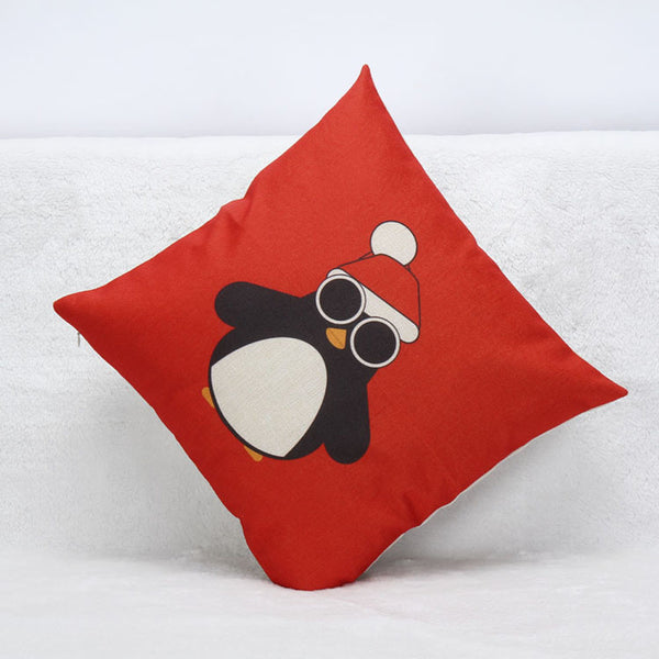 Christmas Cute Pillow Cushion Cover Cases