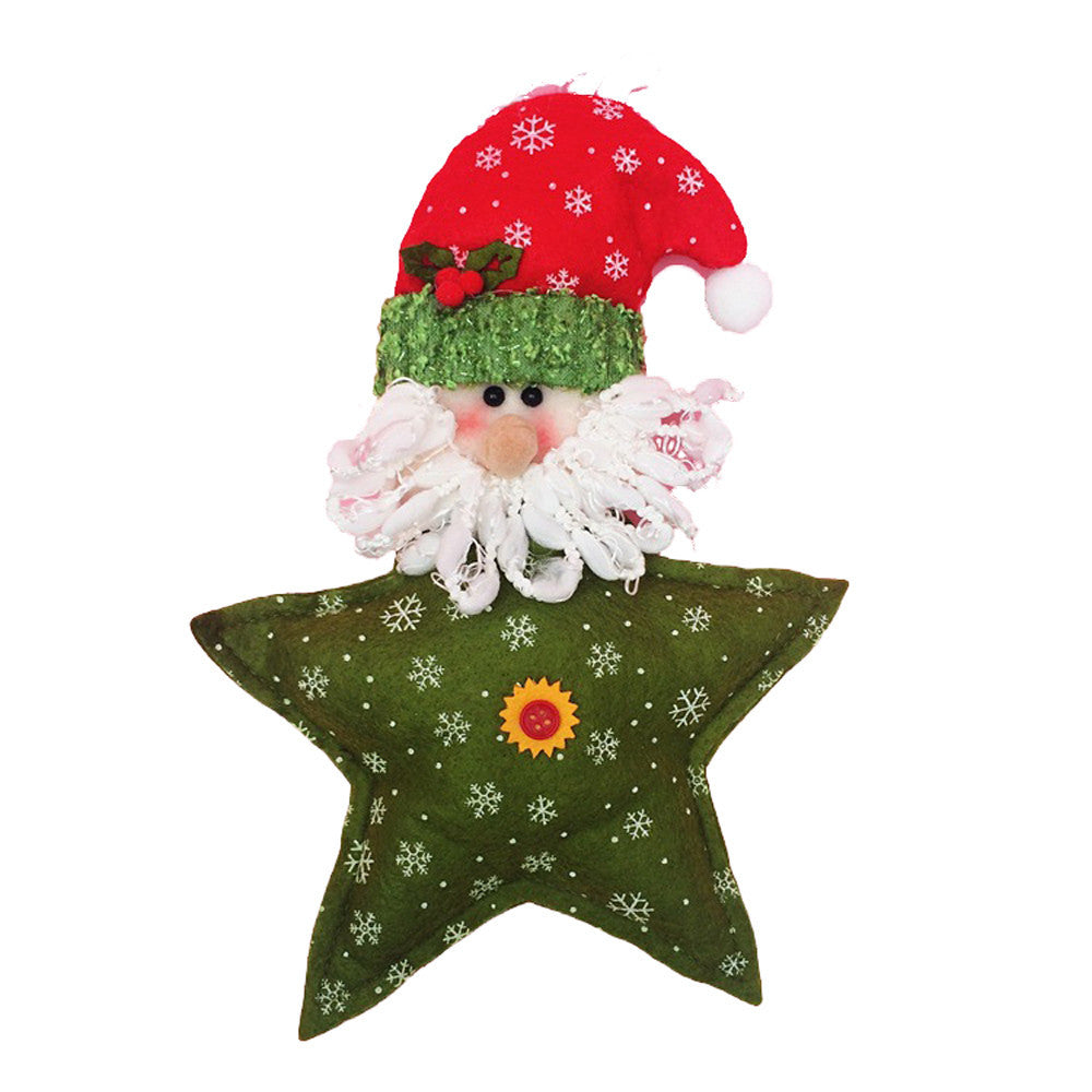 White Christmas Tree Hanging Doll Decorations