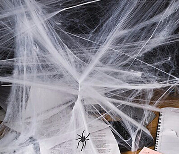 Halloween Stretchy Spider Web Props