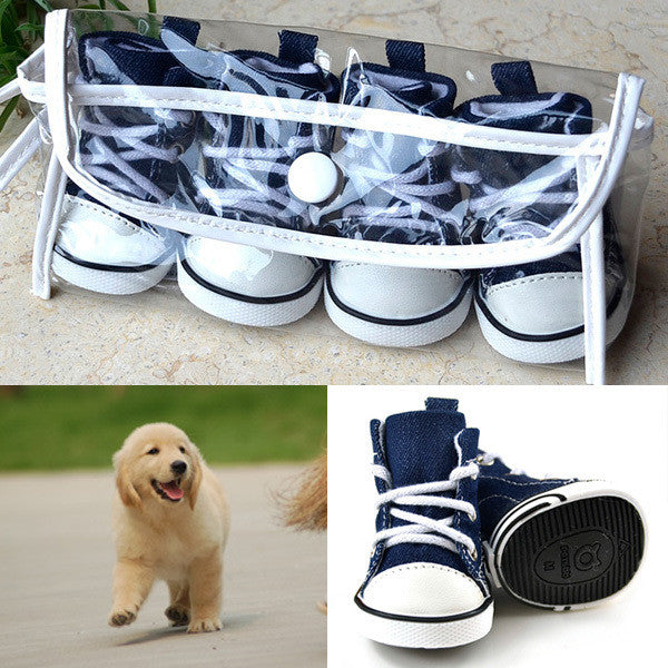 Sneakers Breathable Shoes and Anti-Slip for Dogs