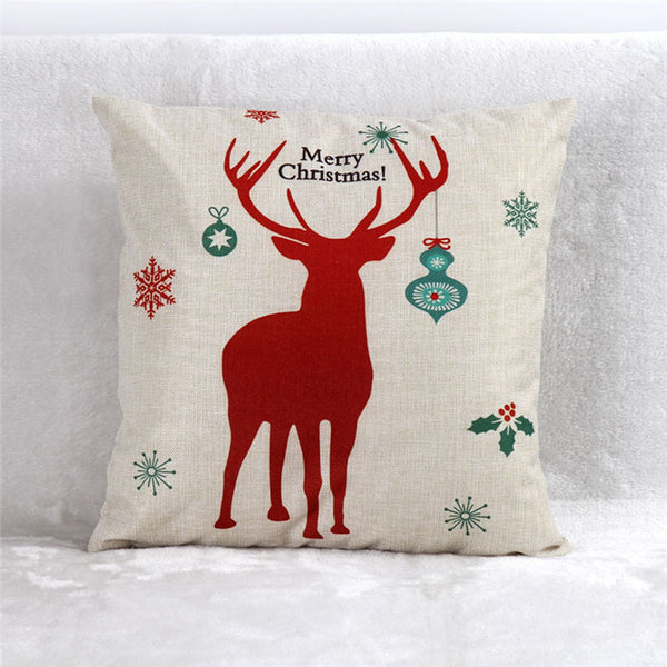 Christmas Cute Pillow Cover Cases