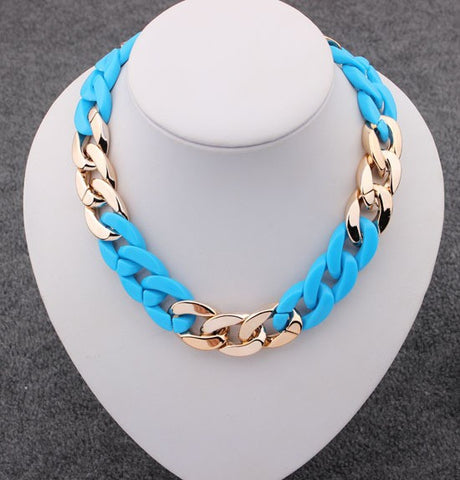 Trendy Fashion Statement Figaro Choker Necklace