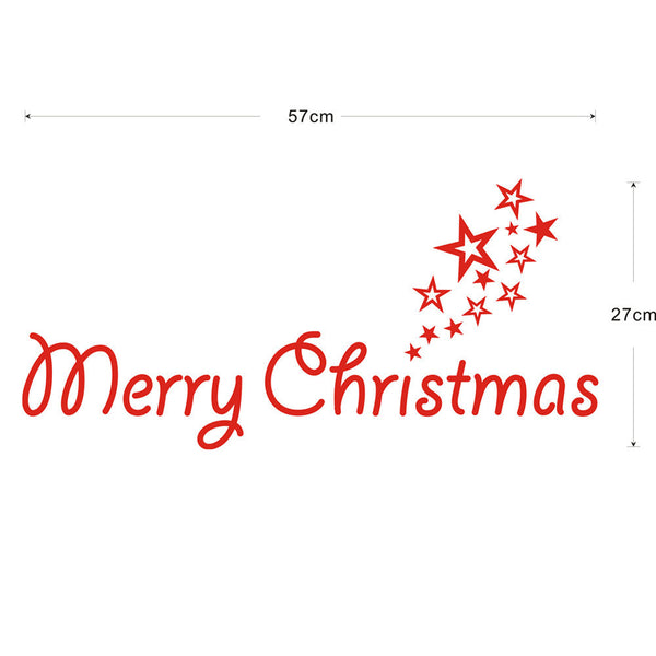 Christmas Home Wall Sticker Decoration
