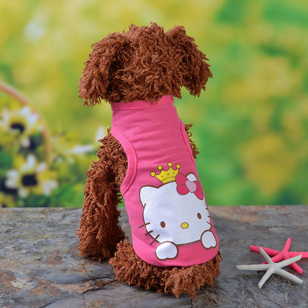New Colorful Fashion Clothes for  Dogs