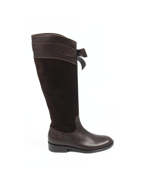 Sebastian Milano ladies high boot 2937 FOCUS+VELOUR MORO