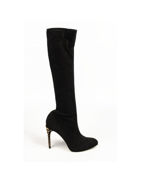 Sebastian Milano ladies high boot S4045 CAM STRETCH CHIANCIANO NERO