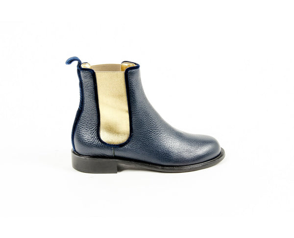 Avec Modration Womens Ankle Boot PIMLICO DEEP BLUE