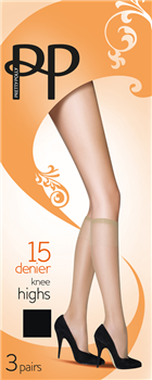 Everyday Knee Highs 15 Denier