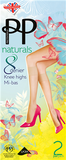 Pretty Polly Knee Highs Naturals 8 Denier