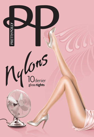 Nylon Gloss Tights 10 Denier