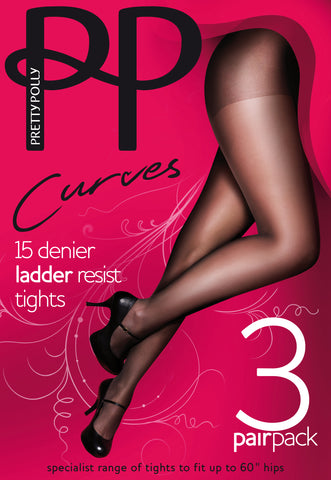 Curves Tights 15 Denier
