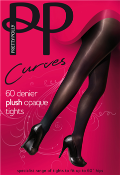 Curves Opaque Tights 60 Denier