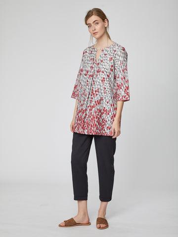 Spot Dash Tunic Top *