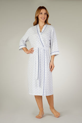 Slenderella Cotton Dressing Gown HC3115