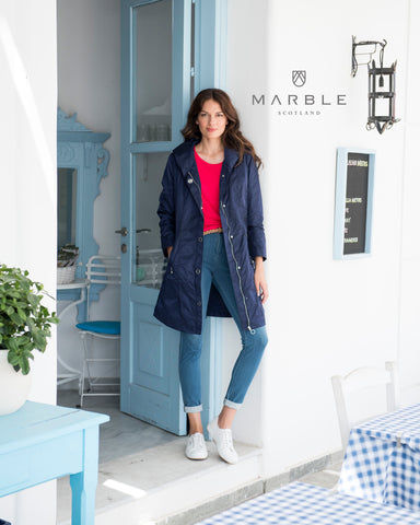 Marble Shower Proof Jacket 5737