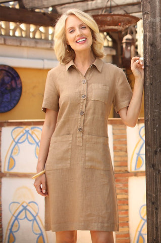 Pomodoro Safari Dress 32007