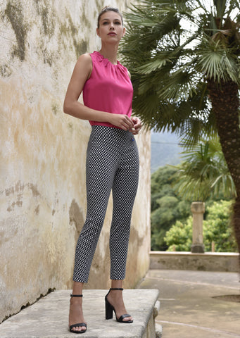 Robell Spotty Trousers 51622 54862