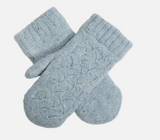 Dents Lace Knit Woven Mittens 6-3238