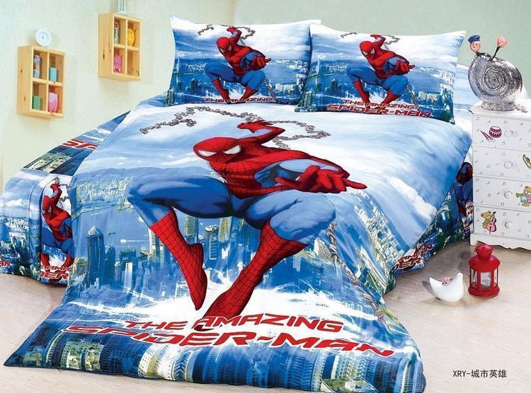 Superhero Blog -  quick affordable theme bedroom makeover.