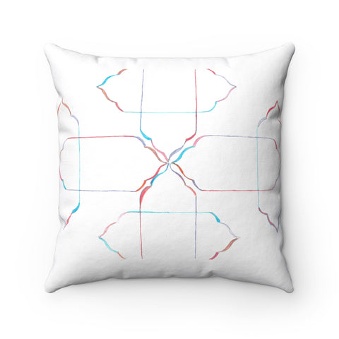 Spun Polyester Square Pillow, Home Decor,Interior Design Genie ,