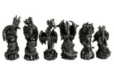 Chess at Dragon Kingdom, Four corner Kingdom two tier battle valley  Chess Set, Arts & Entertainment > Hobbies & Creative Arts > Collectibles,Interior Design Genie ,