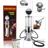 Best Gas Pump Spirit Dispenser / Pump Double Drinks Tap Alcohol Wine for home bar Vintage Gas Pump Style One/Two pump option to for fruit cocktails, Home & Garden > Kitchen & Dining > Barware > Beer Dispensers & Taps,Interior Design Genie ,