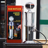 Best Gas Pump Spirit Dispenser / Pump Single Drinks Tap Alcohol Wine For Home Bar Vintage Gas Pump Style One Pump Option To For Fruit Cocktails., Home & Garden > Kitchen & Dining > Barware > Beer Dispensers & Taps,Interior Design Genie ,
