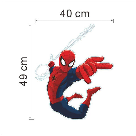 Super Hero 3D cartoon Spiderman wall stickers for kids rooms decals 3D Wall sticker., Home & Garden Decor,Interior Design Genie ,