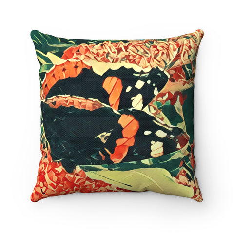 Admiral Butterfly a Summer Abstract Butterfly printed scatter cushion cases. Spun Polyester Square Pillow. - Interior Design Genie