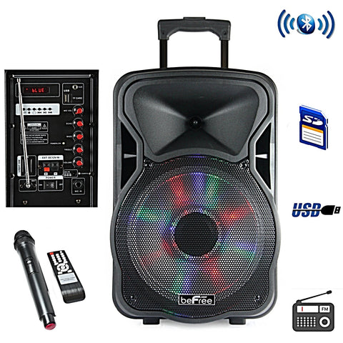 Multipurpose Bluetooth Portable Karaoke PA Speaker designed with 1500 Watts Power P.M.P.O, Arts & Entertainment > Party & Celebration > Special Effects > Special Effects Lighting,Interior Design Genie ,