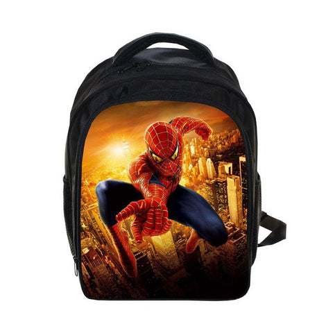 Spiderman Backpack Teenage Boys Batman School Bag Spiderman Printing Backpacks Bag Kid Gift Bookbag, Luggage & Bags > Backpacks,Interior Design Genie ,